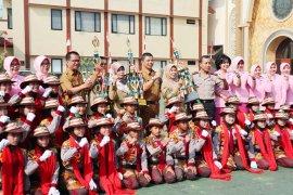 Polisi cilik Polresta Bogor Kota sabet juara harapan satu Polda Jabar