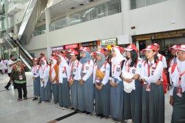 Peserta SMN penyandang disabilitas asal Sulteng tertarik lagu Batak