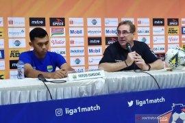 Pelatih Persib Robert Alberts ungkap kegagalan raih kemenangan lawan Boreno FC