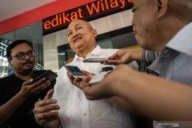 Terkait dana hibah Rp2,1 triliun, Mantan Gubernur Sumsel Alex Nurdin diperiksa enam jam