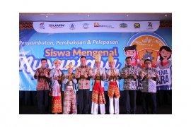 23 Pelajar SMA/SMK dan SLB Lampung Ikuti Program SMN Ke Maluku Utara