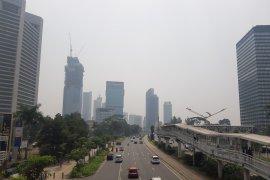 Kamis pagi, Jakarta kota paling polusi kedua di dunia