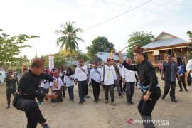 Peserta SMN asal Jatim belajar tarian Gorontalo