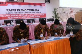 KPU Paluta tetapkan 30 caleg terpilih