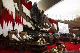 Presiden tinjau persiapan pelaksanaan sidang tahunan MPR RI