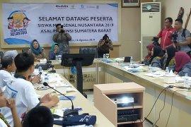 Antara Kalsel beri pembekalan siswa mengenal Nusantara Sumbar