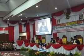 Dewan provinsi gelar paripurna mendengarkan pidato kenegaraan Presiden