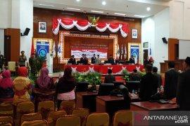 Setengah anggota DPRD Babel tidak hadir Paripurna Pidato Presiden