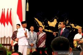 Presiden tanyakan penyebab Rangga gugup di hadapan tiang bendera