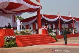 Untuk pertama kalinya Pemkab Karawang gelar upacara HUT RI di Rengasdengklok