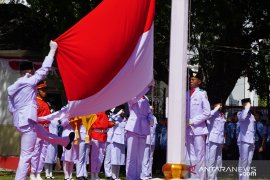 Upacara HUT Kemerdekaan RI di Gorontalo berjalan lancar