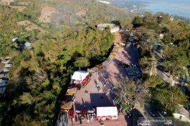 BUMN gelar upacara HUT-RI di Benteng Otanaha Gorontalo
