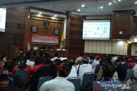 KPK sosialisasi antikorupsi ke wakil rakyat DPRD Bali-Kota Denpasar terpilih