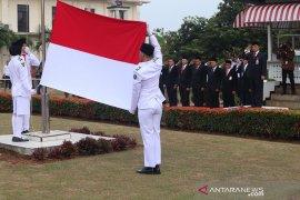 Peringati detik-detik kemerdekaan, konsorsium BUMN upacara di rumah pengasingan Bung Karno