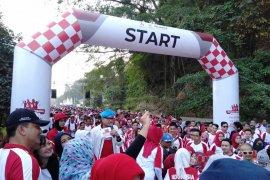 Empat BUMN ini gelar kegiatan sosial dan olahraga di kawasan Danau Jatiluhur