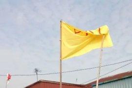 """Pengibar bendera bertuliskan """"PKI"""" diduga alami gangguan jiwa"""