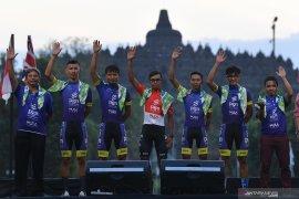 18 peserta siap berpacu Tour d'Indonesia