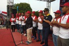 Ribuan peserta meriahkan jalan sehat BUMN Hadir Untuk Negeri di Jambi