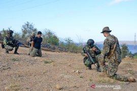 Marinir Indonesia-Amerika latihan teknik perang hutan di Banyuwangi