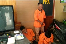 Polresta Pontianak tangkap dua residivis spesialis rumah kosong