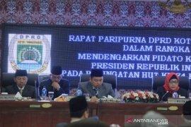 APBD perubahan kota Tangerang sebesar Rp4,4 triliun disahkan