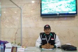 Jamaah haji asal Bangka tiba di embarkasi Palembang 23 Agustus 2019