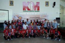 Peserta SMN Sulteng diperkenalkan dengan bisnis PT KIM