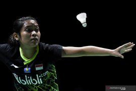 Ditekuk Zhang, Gregoria gagal ke babak dua China Open