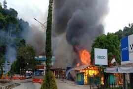 Demo di Fakfak-Papua Barat, pembakaran dan perusakan fasilitas umum terjadi