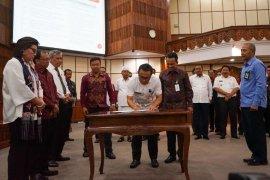 Pemkot Denpasar jalin kerja sama Bank BPD Bali dan BPN
