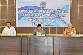 Kegiatan desiminasi Hak Asasi Manuia Kabupaten Kayong Utara dibuka