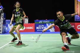 Ganda campura Hafiz/Gloria kecewa langsung terhenti di Swiss Open