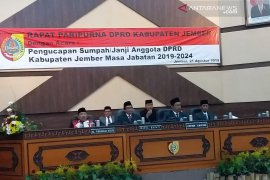 Legislator PKB-Nasdem jabat pimpinan sementara DPRD Jember