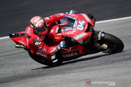 Dovizioso diharapkan fit pascaoperasi jelang start MotoGP
