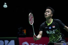 Bulutangkis Prancis Open, perjuangan Anthony disudahi Chen Long di semi final