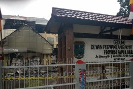 Kapolri-Panglima TNI-Menkopolhukam tinjau situasi Manokwari  pascarusuh