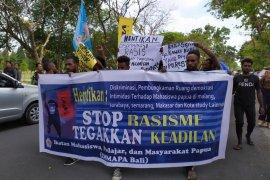 Mahasiswa Papua di Bali lakukan demo damai