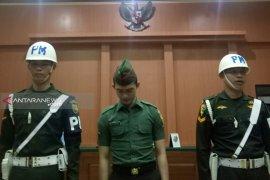 Oknum TNI terdakwa mutilasi menangis saat dituntut penjara seumur hidup dan dipecat