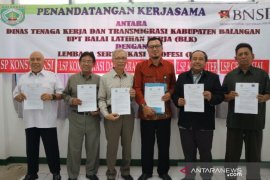 Tingkatkan daya saing lulusan BLK Balangan bentuk pusat sertifikasi