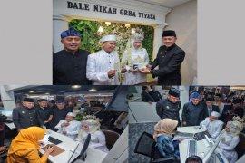 Angka pernikahan di Kabupaten Bogor menurun drastis saat pandemi