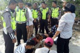 Aksi kejar-kejaran  polantas warnai penangkapan pengedar narkoba