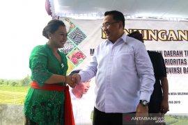 Menteri Eko puji pertanian berbasis pariwisata di Tabanan