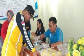 Camat dan lurah di Kecamatan Rambutan lakukan tes urine