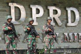 TNI-Polri jamin kamtibmas di Timika kondusif