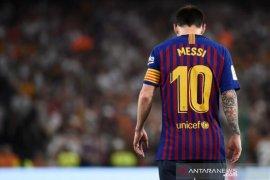 Messi berlatih terpisah jelang Barcelona vs Valencia