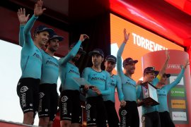"""Superman"" juarai etape pertama si balap sepeda La Vuelta a Espana"