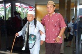 120 haji asal Kabupaten Belitung tiba di daerah asal