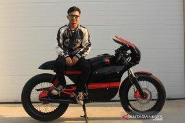 Berawal dari hobi, custom motor karya pemuda Bandung tembus pasar Internasional
