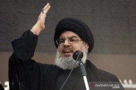 """Pemimpin Hizbullah bersuka cita atas """"kekalahan memalukan"""" Trump"""