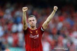Kapten Liverpool, Henderson dinobatkan sebagai pemain Inggris terbaik 2019